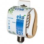 Ekò: lampadina a basso consumo energetico fatta da materiali riciclati