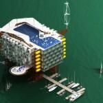 Rig Resort, le piattaforme sostebili