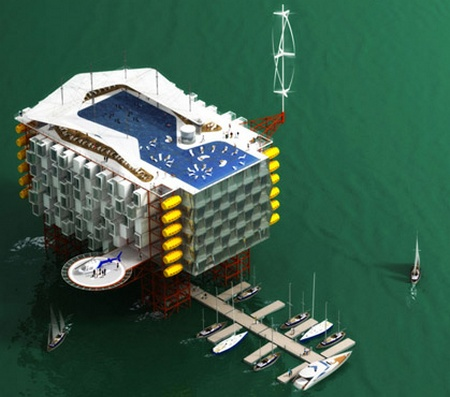 Oil Rig Platform Resort And Spa