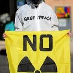 Greenpeace continua la lotta contro il nucleare
