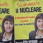 Il Nucleare della Polverini denuncia il verde di Greenpeace