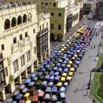 A Lima arriva il primo Taxi solare