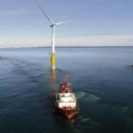 Ecco la soluzione ideale per l'eolico: le turbine galleggianti