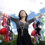 A Milano rottamazione dei vestiti: Nuovi pannelli fotoassorbenti ottenuti grazie ai vecchi reggiseni