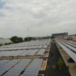 Nuovo impianto fotovoltaico su parcheggio a Roma
