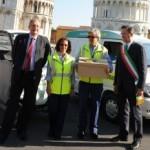 Pisa, prima lettera a zero emissioni per Poste Italiane