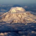 Anche il Monte Rainier ha perso il 14 per cento del suo ghiaccio.