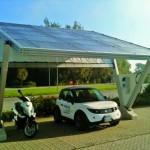 La nuova pensilina solare secondo Foxilfree