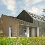 Aria e luce per un'abitazione ecosostenibile realizzata in Francia