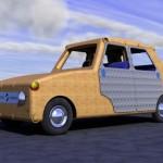 Renault 4 Bambou, la ecocar realizzata in Bambù