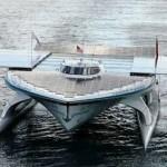Turanor, la nave solare che si appresta a completare il giro del mondo