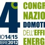Congresso Nazionale Efficienza Energetica di Domotecnica a Torino il 14 e 15 Settembre