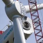La più grande turbina eolica sarà realizzata dalla Siemens nel 2014