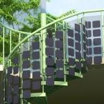 Techne Elios: la prima scala fotovoltaica