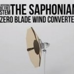 Saphonian: Energia eolica catturata da una parabola