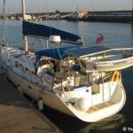 Heron: una barca a vela green