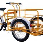 Il cargo-bike nella città di Brescia