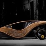 Phoenix: la prima auto in rattan e bambù