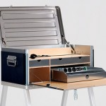 La scrivania solare Kanz Field Power Desk