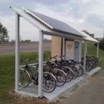 CycleUshare, la prima stazione di ricarica verticale per bici elettriche
