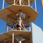 Timber Tower ha realizzato la prima turbina in legno