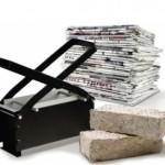 Bioedilizia: case ecologiche in mattoni di carta riciclata