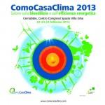 ComoCasaClima 2013: il salone della bioedilizia dal 22 al 24 Febbraio