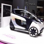 Toyota i-ROAD, la nuova generazione di auto ecologiche