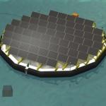Dalla Svizzera l'isola fotovoltaica galleggiante