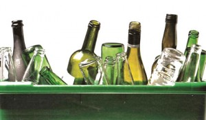 riciclo bottiglie vetro