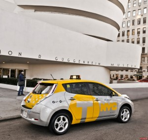 New York - Taxi Elettrico
