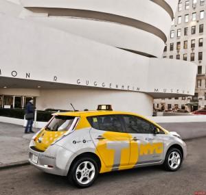New York - Taxi Elettrico