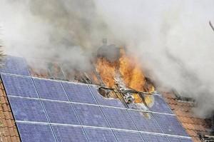 Impianti fotovoltaici a rischio incendio