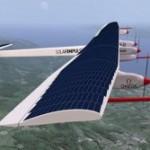 """L'aereo solare """"Solar Impulse"""" impegnato nel viaggio """"2013 Across America"""""""