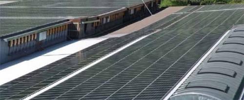 centrale fotovoltaica Evionnaz