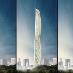 Taiwan Tower, un grattacielo eolico nel cuore dell'isola di Formosa