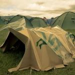 La tenda biodegradabile che rilascia i semi