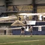 Atlas, l'elicottero a propulsione umana
