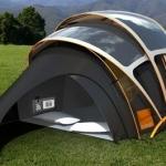 Una tenda solare per i campeggiatori ideata da Orange