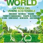 "Eventi Green: ""Green World"" a Carrara dal 31 Ottobre al 3 Novembre"