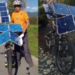 Solar-Cross ebike, la bicicletta solare realizzata da Terry Hope