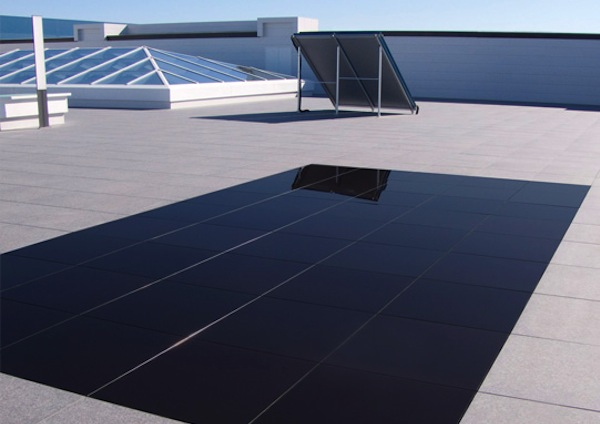 Pannelli solari calpestabili
