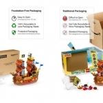 Amazon: 200.000 imballaggi green per la vendita di prodotti