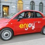Enjoy, il nuovo servizio di car sharing di Milano