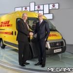 DHL Express Italy-Fiat Professional, i nuovi veicoli ecologici di DHL