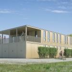 Container riciclati verranno impiegati per realizzare una struttura sportiva