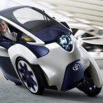 Toyota i-Road: sono partite le prove su strada