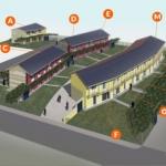 Il primo borgo solare bioclimatico italiano presentato a Udine