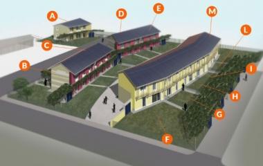 borgo solare bioclimatico