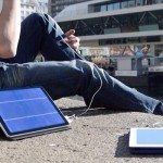 Solartab, il caricabatterie solare portatile per tablet